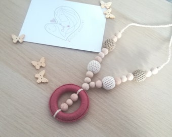 "Breastfeeding Necklace ""Magic Ring"""