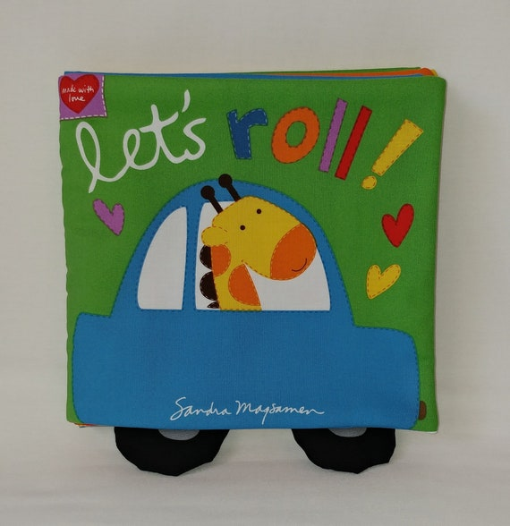 Girls Boys Soft Cloth Books for Baby Kids Who Says Woof? Child Children