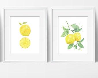 954c72b68446 Lemon art | Etsy