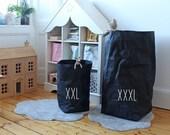 Laundry bag, Washable paper basket, Giant, Extra Large, Paper basket, Bedding storage, pillow storage, Laundry basket, organizer