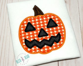 Boys Halloween Shirt - Jackolatern - Pumpkin - Monogram Pumpkin - Boys Pumpkin Shirt - 1st halloween - first halloween