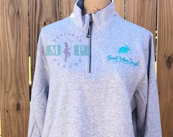 Adult Pullover - Adult Sweatshirt - Charles River Pullover - Monogram Jacket - Monogram Pullover