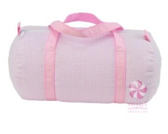 Seersucker Baby Duffle Bag - Small Duffle