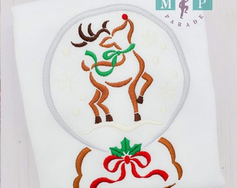 Snow Gone - Deer -Rudolph - Personalized -Christmas Magic