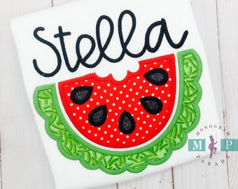 Watermelon Shirt or bodysuit - watermelon festival - watermelon birthday - 0ne in a melon