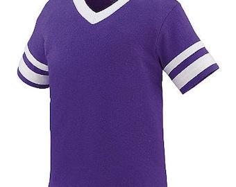 SALE! Girls Monogrammed Short Sleeve Spirit Shirt - Girls Football Tee - Girls Football Jersey - Youth Football Jersey - SEC Football