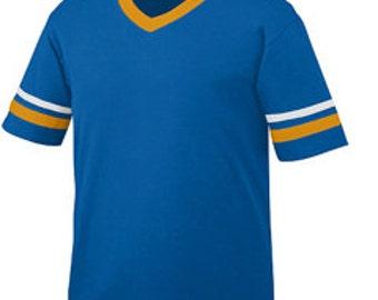 Girls Monogrammed Short Sleeve Spirit Shirt - Girls Football Tee - Girls Football Jersey - Youth Football Jersey - SEC Football