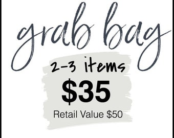 Grab Bag Sale - Mystery Items - Children - Adults