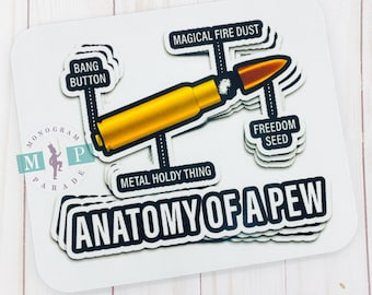 Anatomy of a pew -Marksman -Sublimation -Shirt
