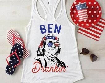 Ben Drankin Independence Day - Ladies - Men - Sublimation