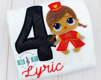 Circus birthday - girls birthday - doll birthday - majorette doll - circus doll - red hat doll