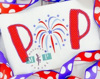 July 4th - Fireworks - POP - Sparkle - Patriotic