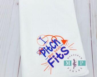 Sublimated Corner Grommet Towel - I pitch Fits