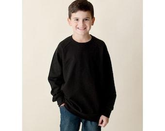 Boys Sweatshirt - Monogram Sweatshirt - Valentines outfit - Christmas Outfit - unisex sweatshirt
