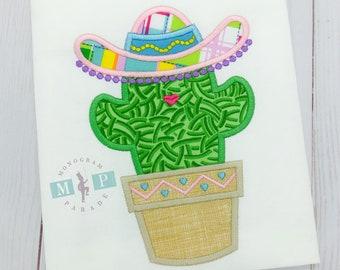 Girls cactus shirt - cactus - mexican - cinco de mayo - fiesta