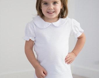 Kids Peter Pan Short Sleeve Shirt