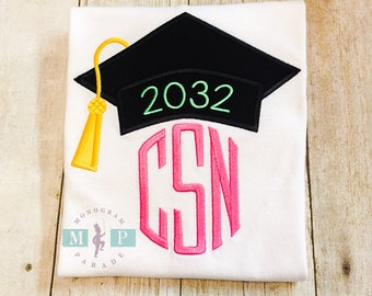Girls Graduation Shirt - Preschool Graduation - Kindergarten Graduation