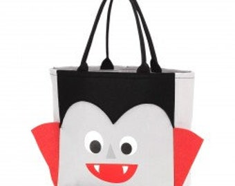 Count Vlad Halloween Tote - Candy Bag - Trick or Treat Bag - Trick or Treat Tote - Personalized
