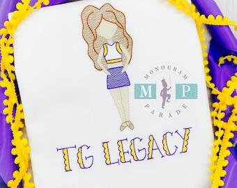 Louisiana Dancer - Tiger Dancer - Tiger Girl Dancer - Hip Hop Dancer - Tiger Basketball - Purple and Gold Dancer - Tiger Football