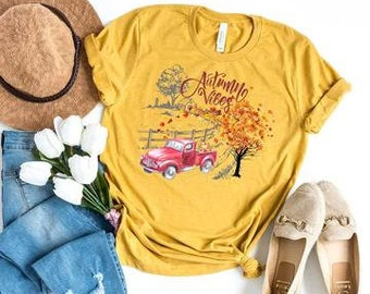 Autumn Vibes Tee - Fall t-shirt - Adult