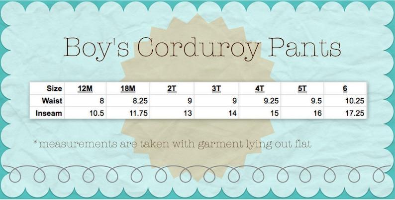 cbde60615 Boys Corduroy Pants Boys thanksgiving pants corduroy pants | Etsy