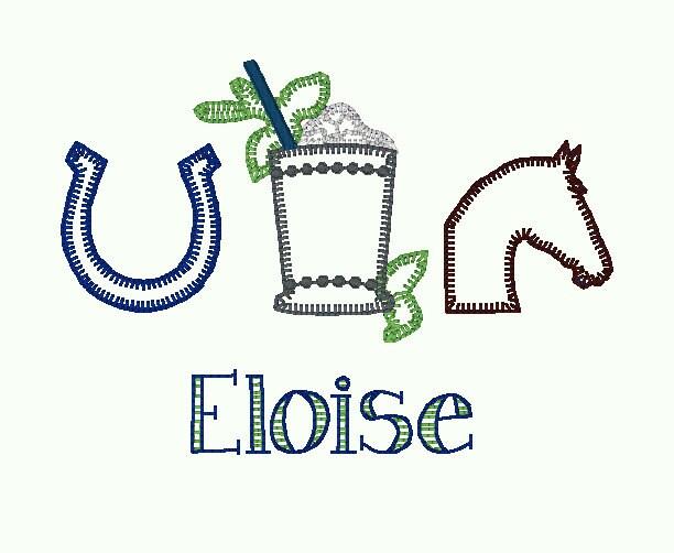 Sample Sale - Kentucky Derby - Mint Julep- Horse Racing