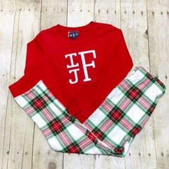 SALE Unisex Children s Pajamas Christmas Pajamas  b1a54e40e
