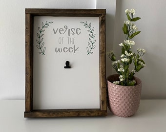 Verse of the Week - Mothers Day Gift - Gift for Mom - Bible Study - Bible Verses