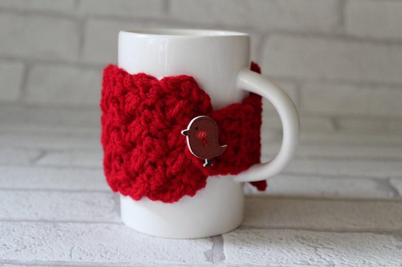 CROCHET PATTERN MUG warmer pattern printable packaging crochet image 0