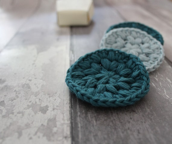 Crochet Face Scrubby Digital Pattern And Packaging Crochet Etsy