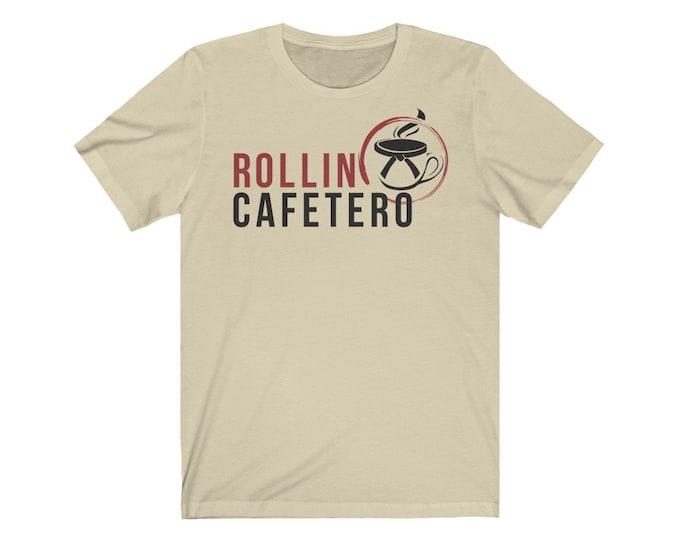 Rollin Cafetero logo Tee