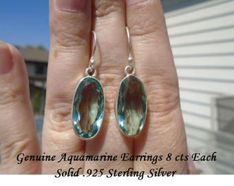 16 ct Aquamarine Earrings