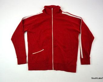 Red track jacket   Etsy
