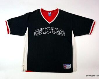 new styles a2d8e 4f715 netherlands vtg 90s nike air michael jordan baseball jersey ...