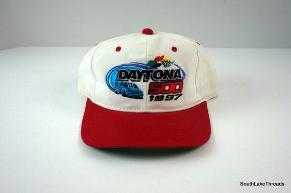 Vintage Daytona 500 Hat Snapback Cap NASCAR Racing 1997 VTG  47006b8af376