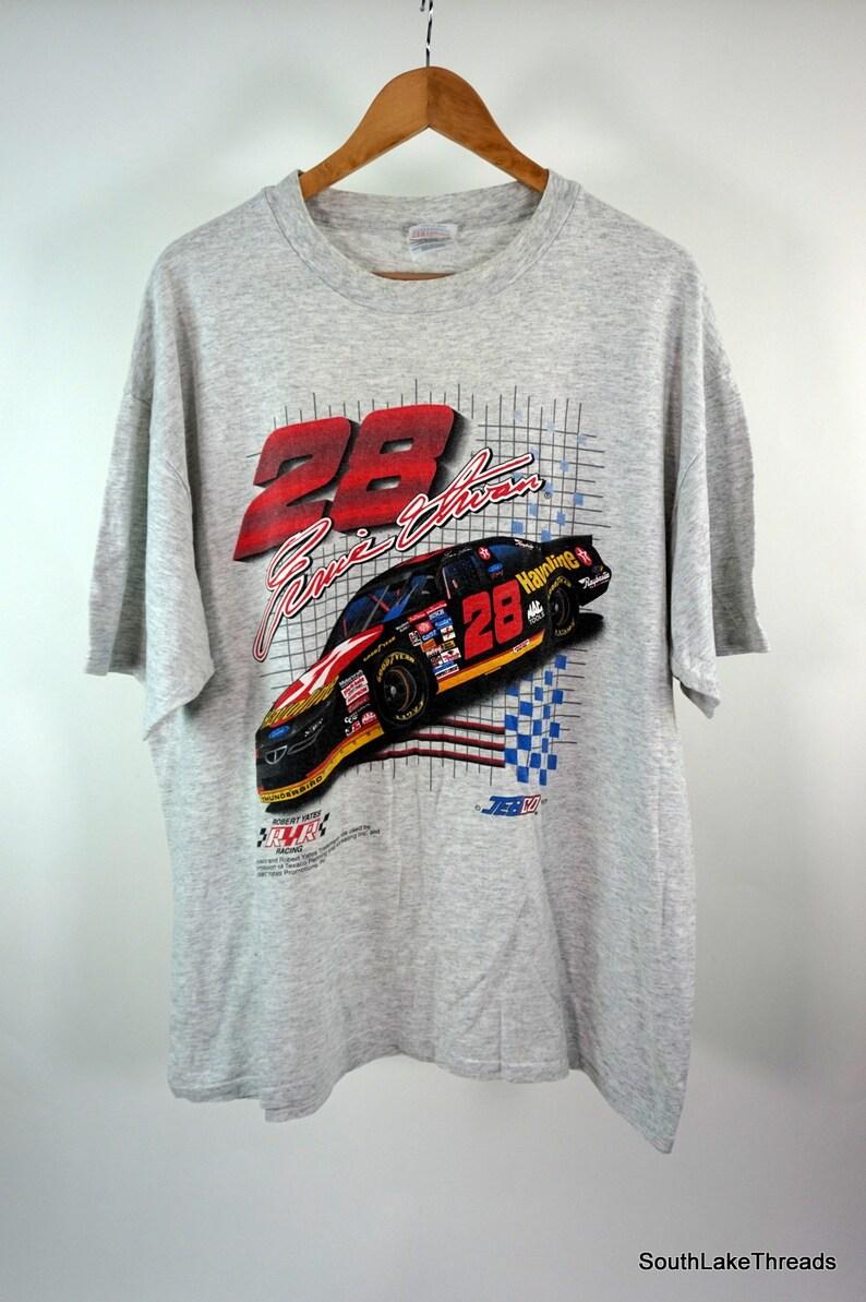 Ernie Irvan Vintage T-Shirt 1997 Double Sided Adult XL Nascar image 0