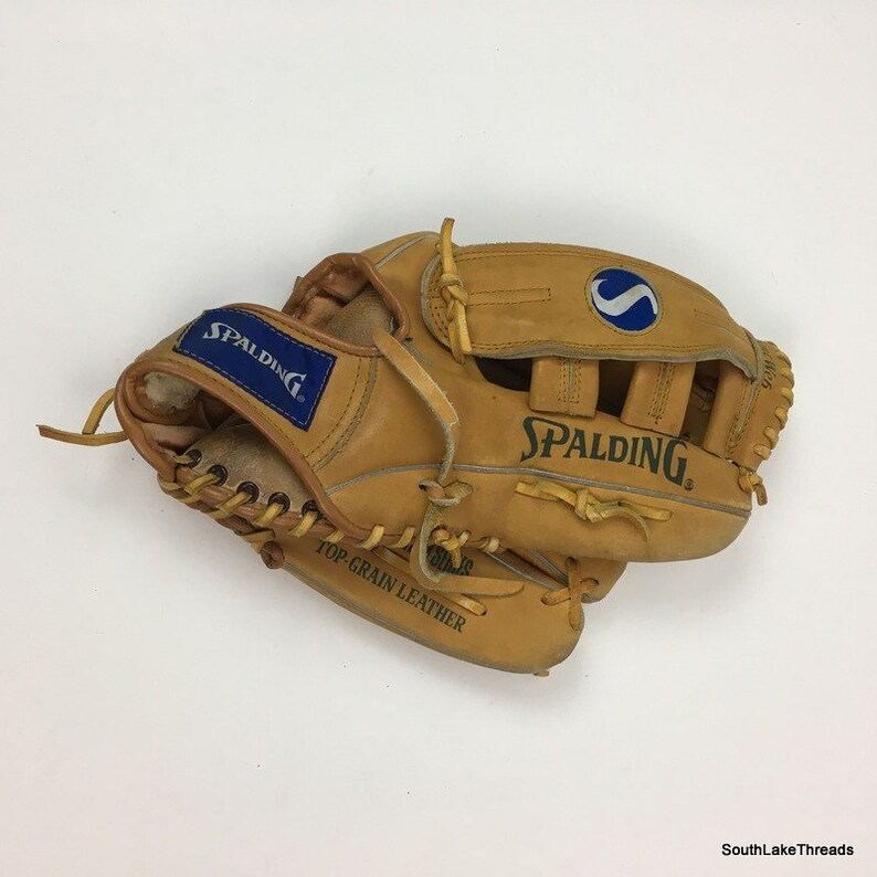 Spalding Competition Series Baseball Softball Leather Glove image 0