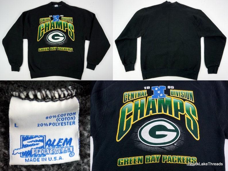 VTG Men's Salem Sports Green Bay Packers Sweatshirt image 0