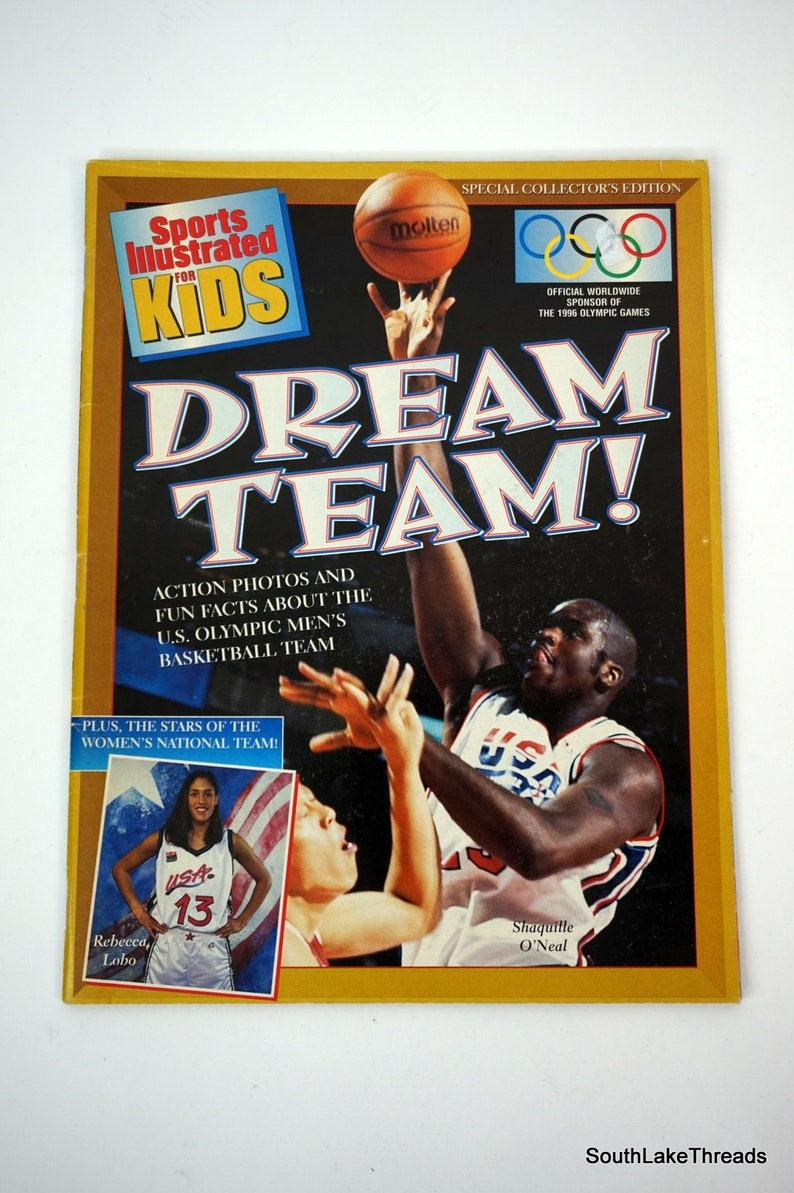 1996 USA Olympic Dream Team Sports Illustrated For Kids image 0