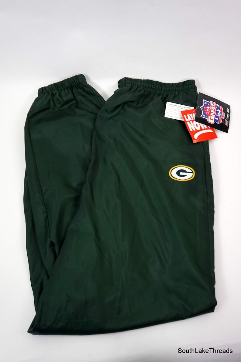 Vintage NFL Gameday Turbo Zone Green Bay Packers Men's 2XL image 0