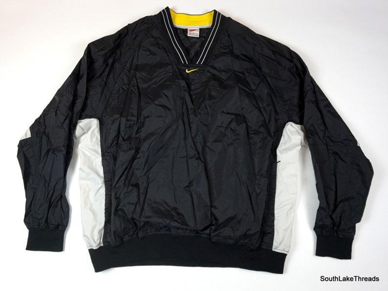 f00efda929fe Vintage 90s Nike Pullover Windbreaker Jacket Men s XXL