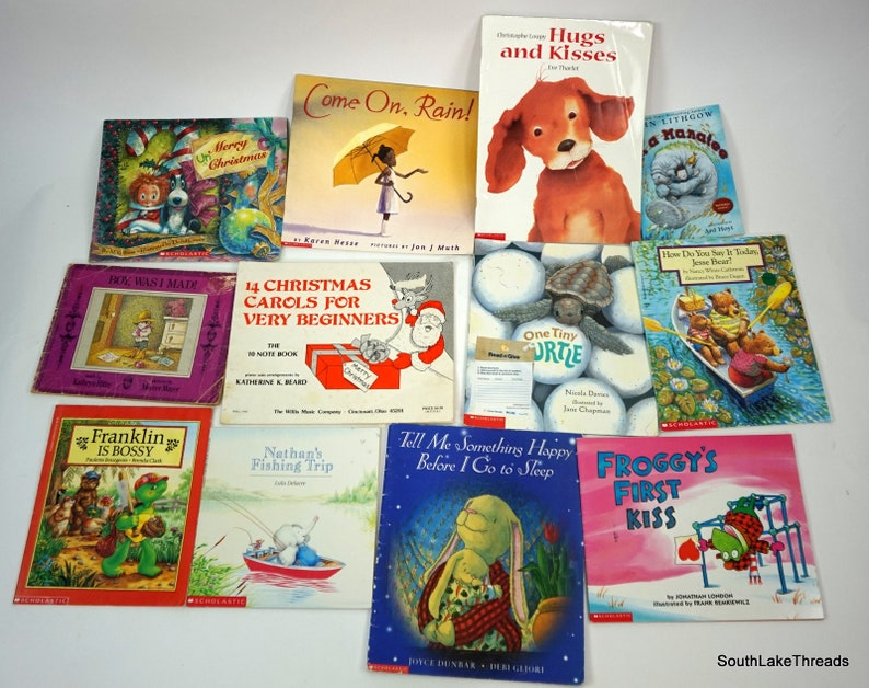 Lot of 12 Vintage Children's Story Books Kids Books image 0