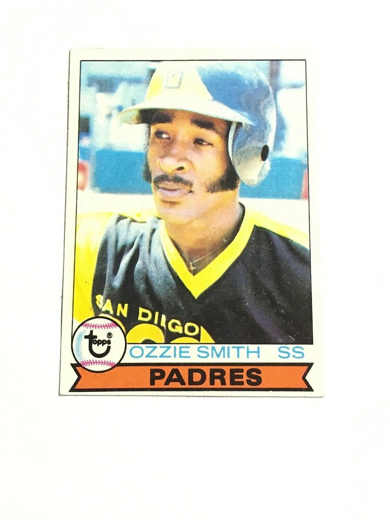 1979 Topps Ozzie Smith Rookie 116 San Diego Padres Hall of image 0