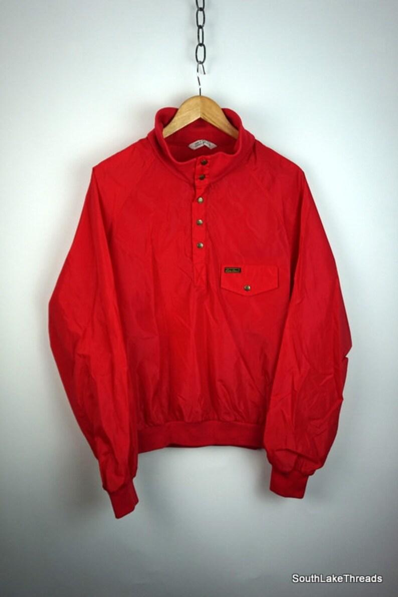 Vintage 80s Eddie Bauer Windbreaker Jacket Men's Large image 0