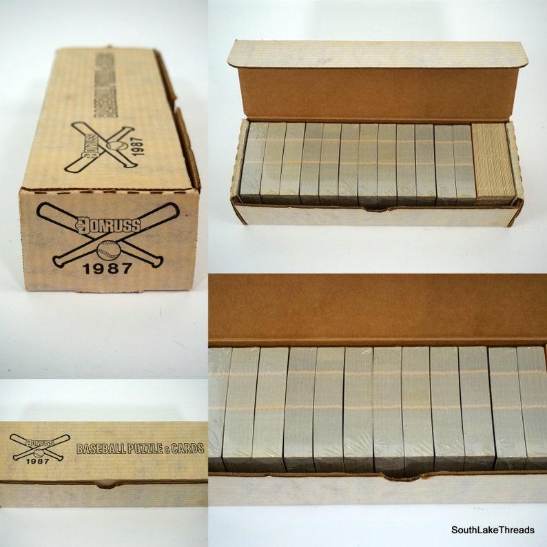 1987 Donruss Complete Factory SEALED Baseball Card Set-Bonds image 0