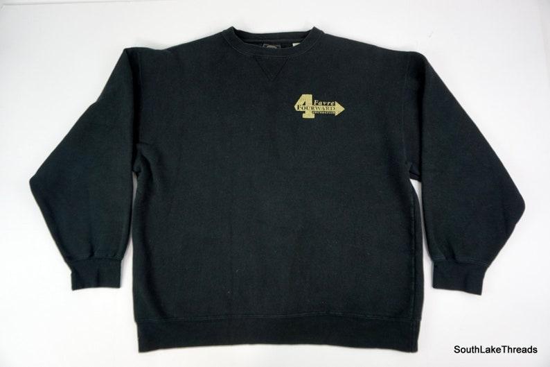Men's Brett Favre Forward Foundation Logo Sweatshirt Large image 0