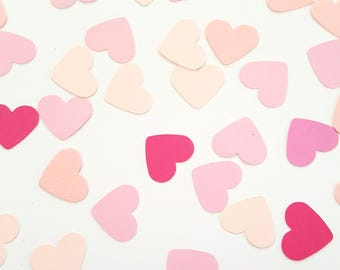 Precious Pinks - Heart Confetti / Table Scatters - Party Decoration