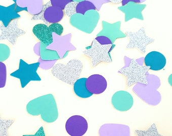 Mermaid Love -  Confetti / Table Scatters - Party Decoration