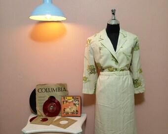 1960 Vintage Suit Lady Suir Womens Suit Dots 60 S Etsy