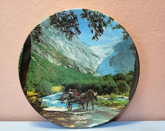 Norway Wall plate, Wall plate, Collectors wall plate, Wall Hangings Plates, Plate collectors,Decorative Wall Plate, Antique Wall Art, Plates